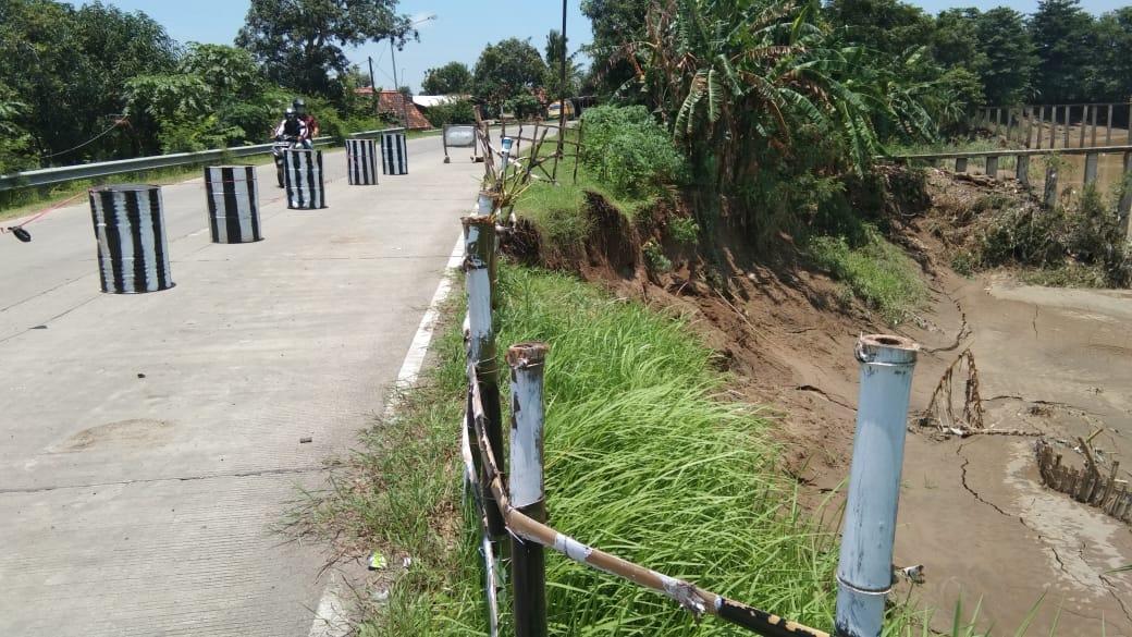 Tanggul Sungai Cisanggarung Dalam Kondisi Kritis