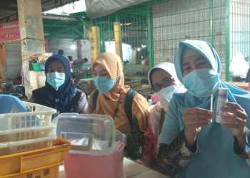 DPPKP Sidak Pasar Kanoman dan Uji Tes Bahan Pangan