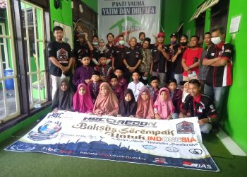 HBC Cirebon Serahkan Bantuan untuk Anak Yatim