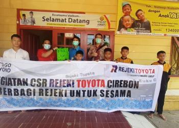 Kunjungi Panti Asuhan, Rejeki Toyota Berbagi Rejeki dengan Anak Yatim