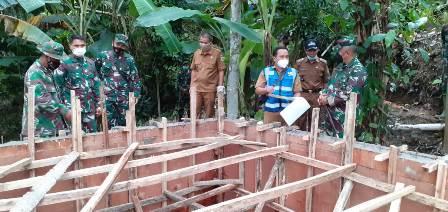 Danrem 063/SGJ Tinjau Pembangunan IPAL Jamberama