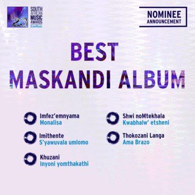 South African Music Awards 2016 - Full Nominee List #SAMA23 13