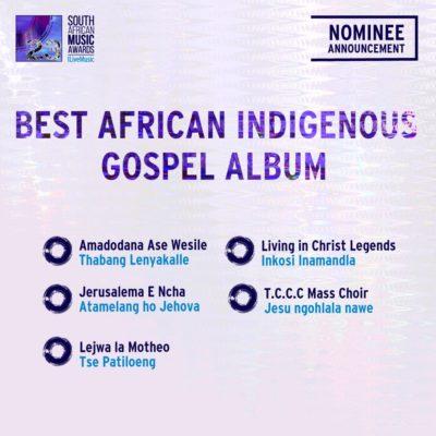 South African Music Awards 2016 - Full Nominee List #SAMA23 15