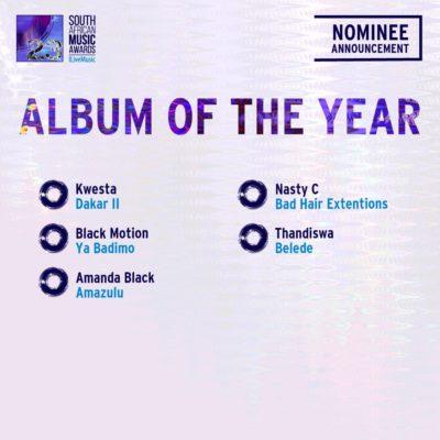 South African Music Awards 2016 - Full Nominee List #SAMA23 19