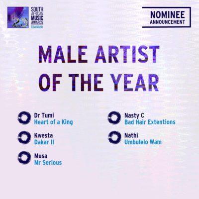 South African Music Awards 2016 - Full Nominee List #SAMA23 4