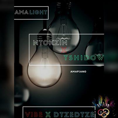 Ntokzin, Tshidiso, Vibe & Dzedze – Ama lights (Vocal Mix) Mp3 Download