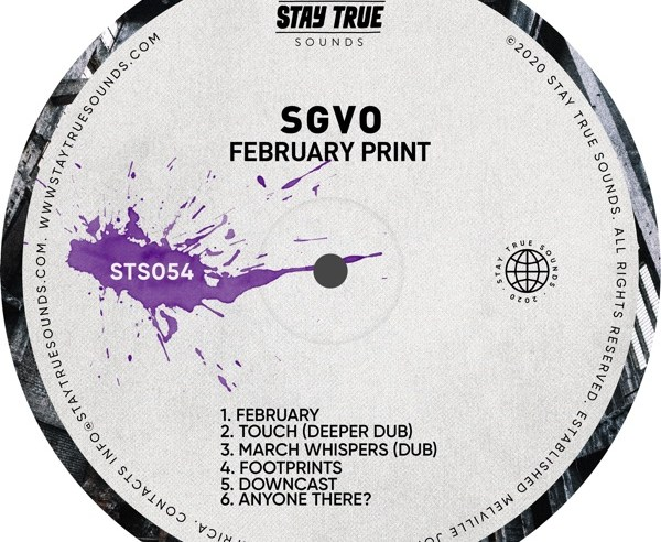 Download Mp3 EP: SGVO - February Print