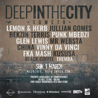 Download Mp3 Black Coffee – Live At (Deep In The City Soweto)