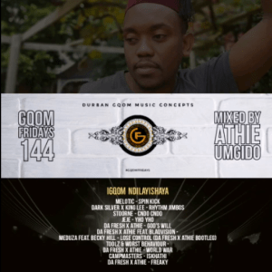 Download Mp3 Dj Athie – GqomFridays Mix Vol.144