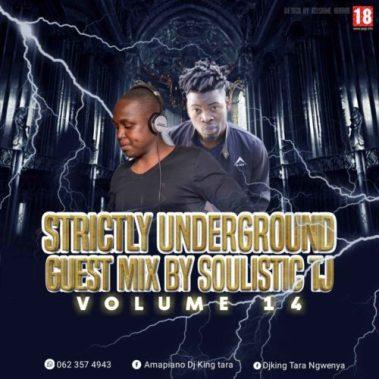 Download Mp3 Soulistic TJ – Strickly King Tara Underground MusiQ Vol. 14 (Guest Mix)