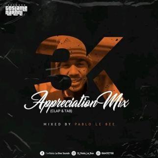 Pablo Le Bee – 3k Appreciation Mix (Clap & Tab)