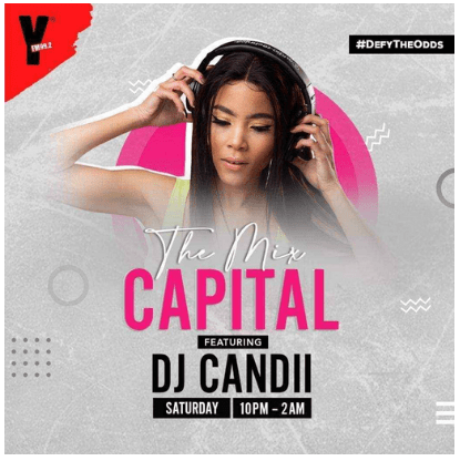Dj Candii – The Mix Capital (12-Sep)