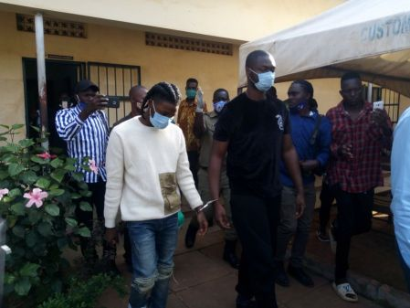 OMAH LAY AND TEMS AWAIT TRIAL FOR BREAKING COVID-19 RULES AT UGADAN CONCERT