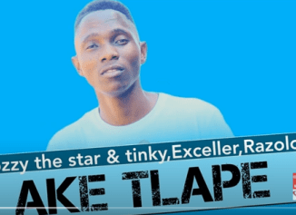 Clozzy the Star & Tinky – Ake Tlape Ft. Exceller & Razolo (Original Mix)