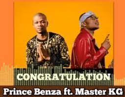 Prince Benza – Congratulation Ft. Master KG