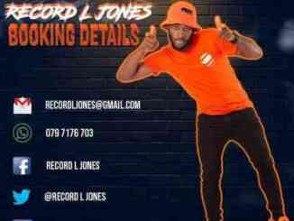 Record L Jones & Slenda Vocals – Umoya Wam