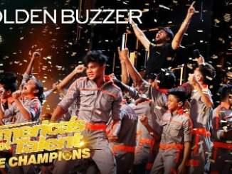 Golden Buzzer, Howie Mandel Sends V.Unbeatable To The Finals!, America's Got Talent, The Champions, Video, mp3, download, datafilehost, fakaza, DJ Mix