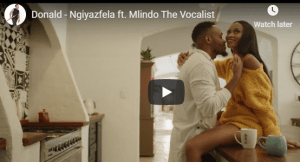 Donald – Ngiyazfela ft. Mlindo The Vocalist