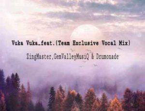 Gem Valley musiQ, Zing Mastar & Drumonade – Vuka Vuka (Vocal Mix) Ft. Team Exclusive
