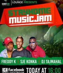 Sje Konka & Freddy K – Stayhome Music Jam