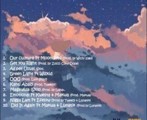 Zingah – On A Different (Tracklist)