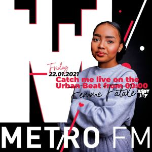 Judy Jay – Metro FM The Urban Beat (Femme Fatale Guest Mix)