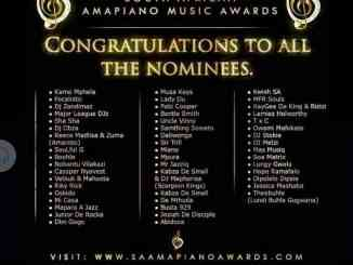 First South African Amapiano Music Awards (SAAPA) Unveiled + List of Nominees