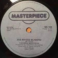 Soul Brothers – Ake Niyeke Botsotsi