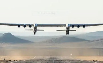 World's longest 2019 Plane with 6 engens and wingspan goes out for a taste flying