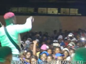 Unjoko Thembelihle (iTake Away) Video Download