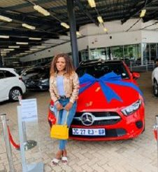 Makhadzi Buys A New Mercedes Benz