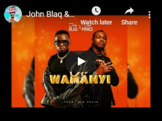 John Blaq & Slim Prince Oli Wamanyi video Mp3 Download