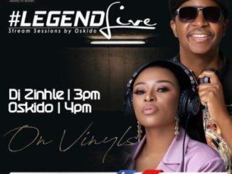 Dj Zinhle & Oskido Legend Live Mix Mp3 Download Fakaza
