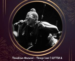 Thandiswa Mazwaai Thongo Lam Mp3 Download Fakaza