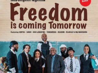 DOWNLOAD Dr Mbongeni Ngema Freedom Is Coming Tomorrow (Remix) Mp3 Ft. Emtee, Saudi, Gigi Lamayne, Tamarsha, Reason, Blaklez & DJ Machaba Fakaza