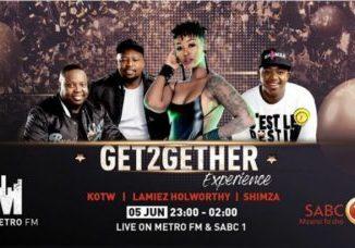 Shimza, Kotw, Lamiez Horworthy's Get2getherexperience Live performance & Mix At Metro Fm & SABC 1 Video Download