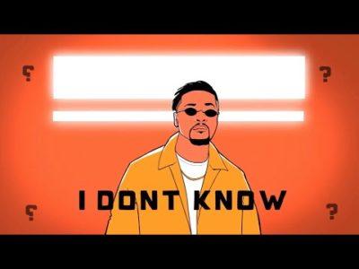 Download Xavier I Don't Know Mp3 Fakaza