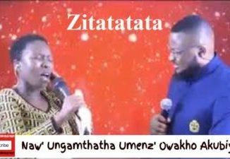 Ps Sebeh Nzuza Naw' Ungamthatha Umenz' Owakho Akubiyele Umhlengi wami ft Jay Israel Mp3 Download Fakaza
