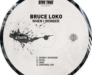 Fakaza Music Download Bruce Loko When I Wonder EP Zip