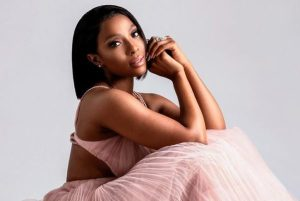 Pearl Modiadie's First New Baby Is Here