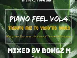Bongz M Piano Feel Vol. 4 Mp3 Fakaza music Download