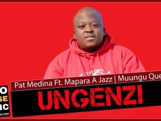 Pat Medina Ungenzi Ft Mapara a Jazz & Muungu Queen Mp3 Download