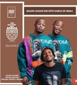 Kabza De Small & Major League Djz Amapiano Live Balcony Mix (S02E02) Mp3 Fakaza Music Download