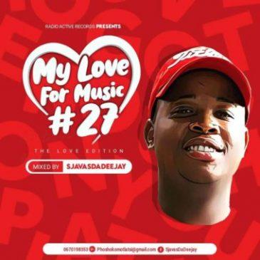 Download Sjavas Da Deejay My Love For Music Mp3 Fakaza Music Download