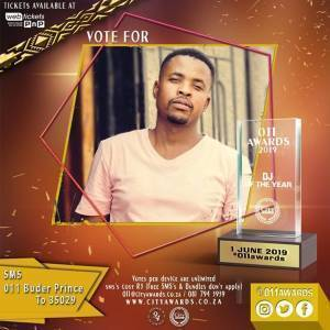 BUDER PRINCE – TOP 10 CHART 011 AWARDS 2019 BEST DJ OF THE YEAR
