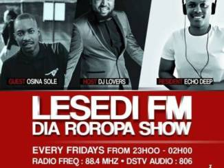 Echo Deep Lesedi Fm #Diaroropa Mix Mp3 Download Fakaza