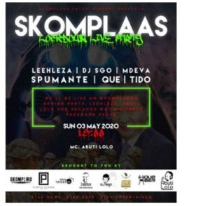 Leehleza – Skomplaas Lockdown Live Party mp3 download