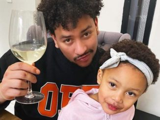 AKA and his daughter
