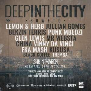 Vinny Da Vinci – Live at (Deep In The City Soweto) mp3 download