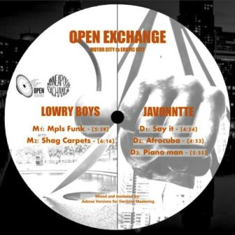 Javonntte & The Lowry Boys – Open Exchange, Vol. 1 zip download